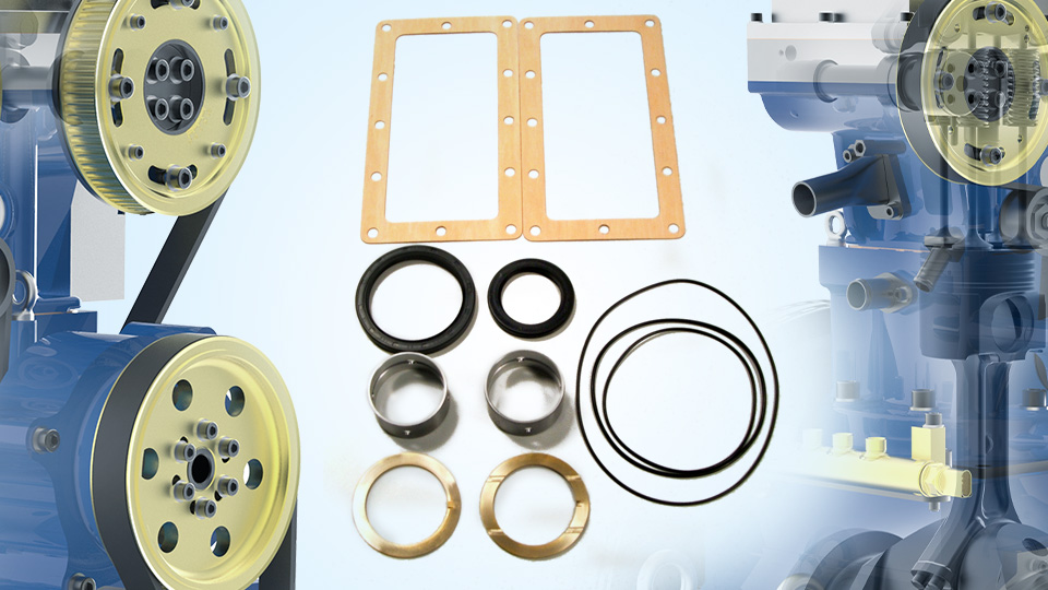 Hydra Crankcase Assembly Service Kit